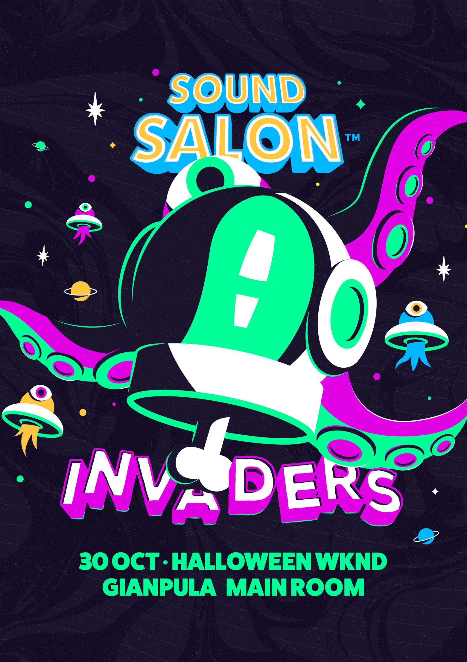 SOUND SALON presents INVADERS [HALLOWEEN SPECIAL] poster