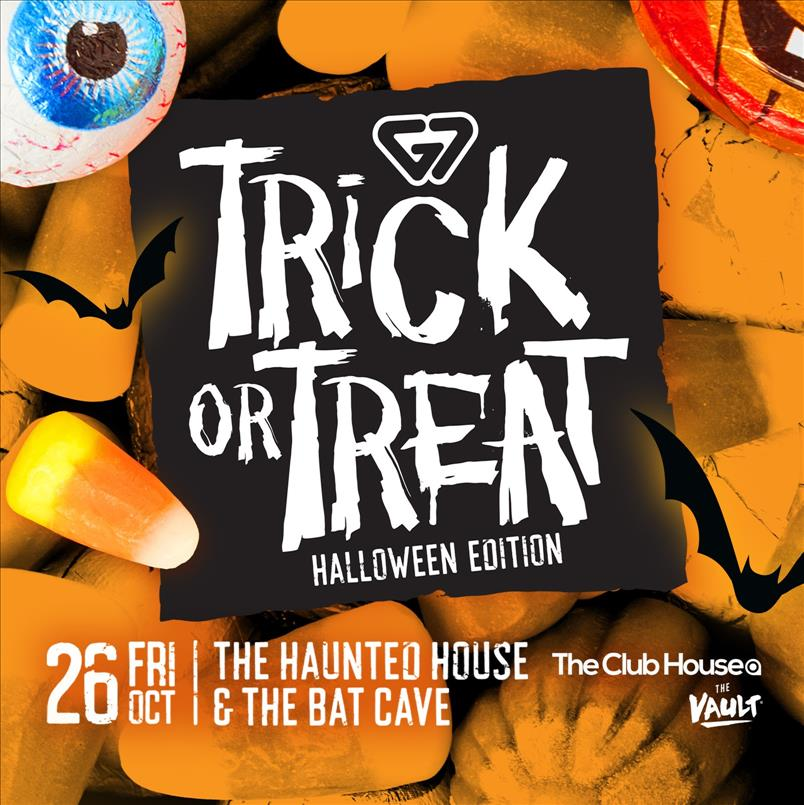 Trick or Treat - G7 Halloween Edition flyer