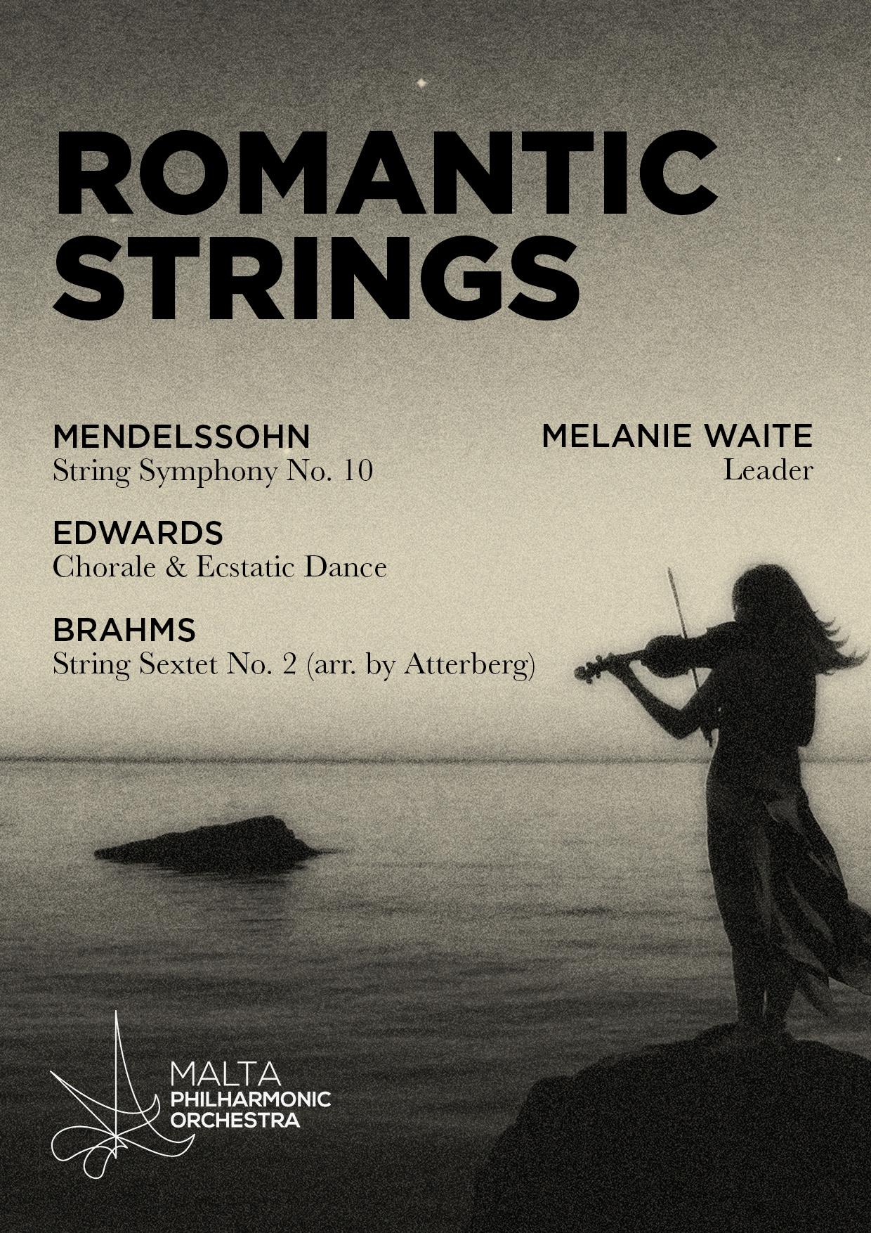 Romantic Strings flyer