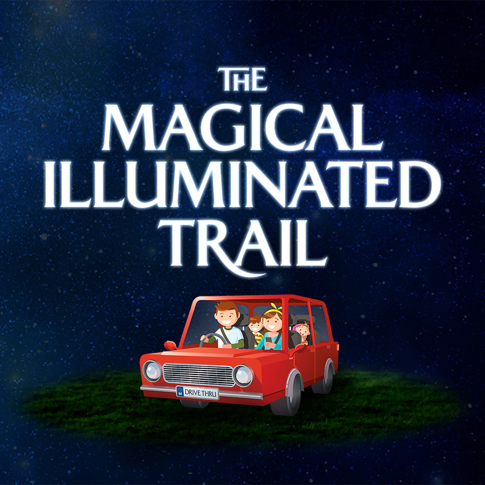 The Magical Illuminated Trail: Drive-Thru Edition flyer