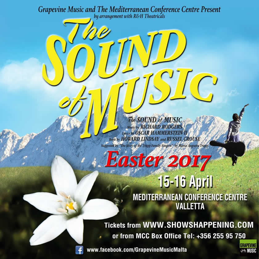 The Sound of Music 2017 flyer