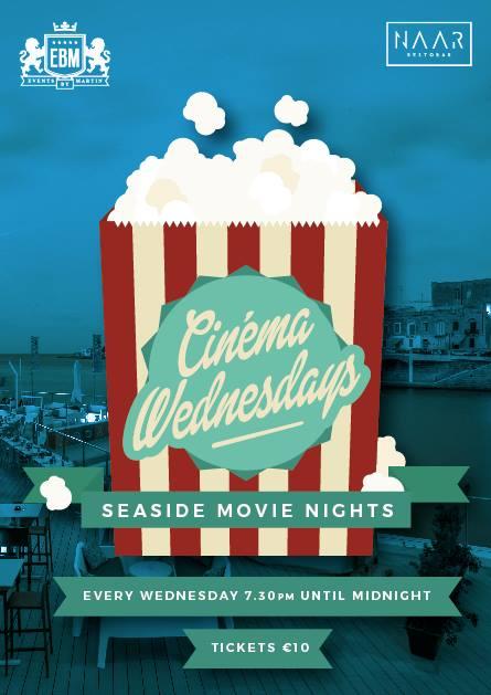 Cinema Wednesdays at NAAR flyer