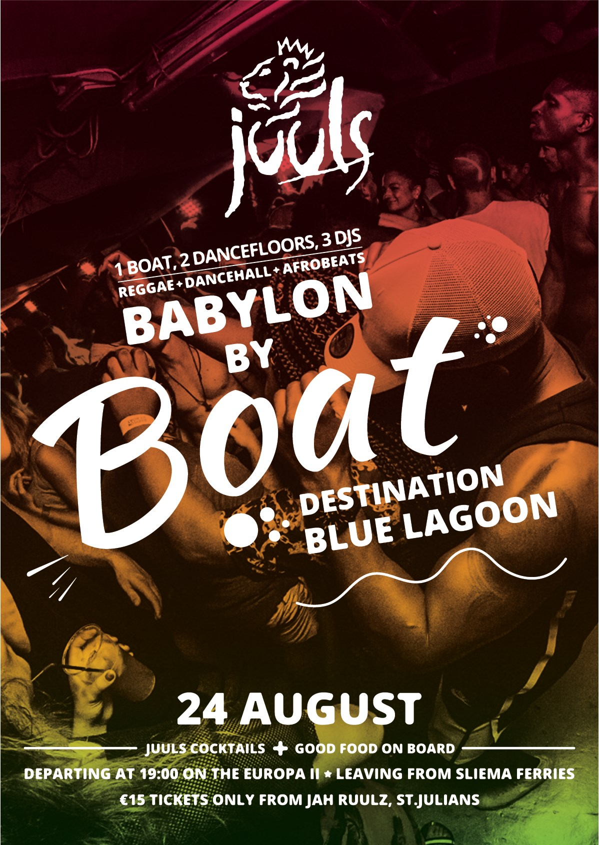 Babylon By Boat flyer