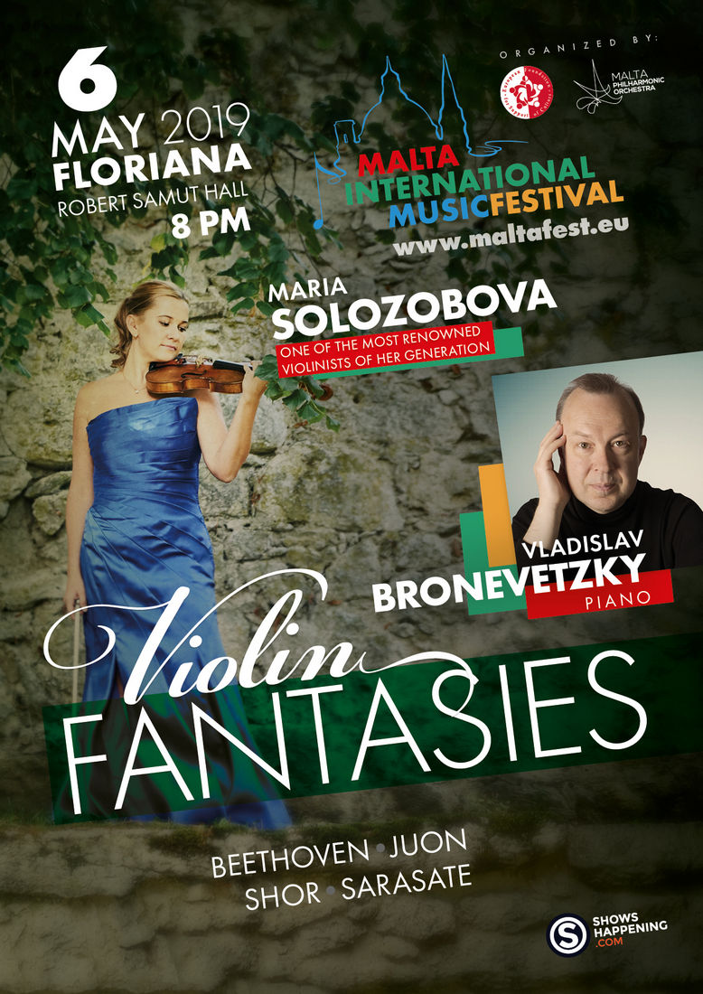 Violin Fantasies flyer