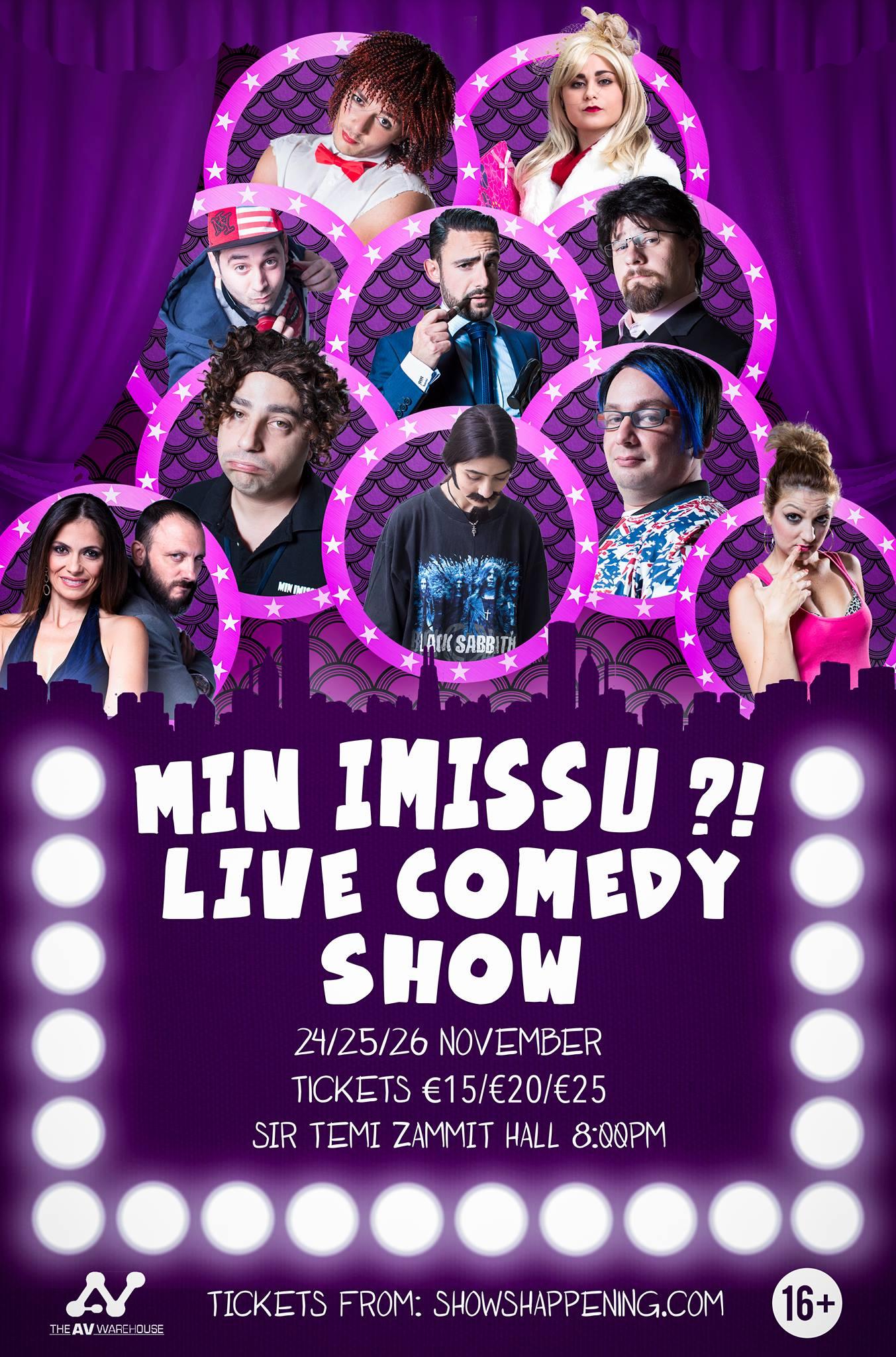Min Imissu Live Comedy Show