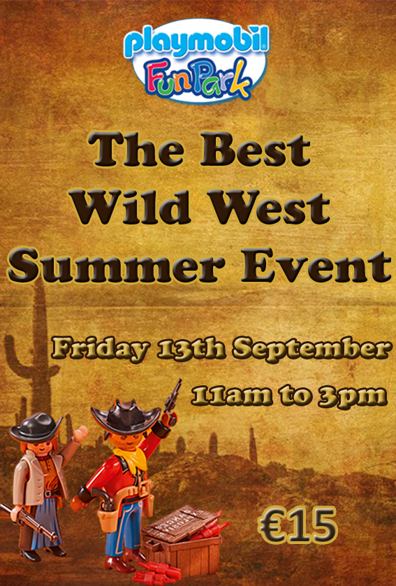 The Best Wild West Summer Event flyer