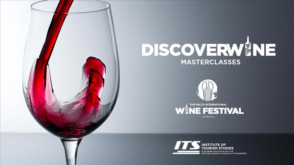 DiscoverWine Masterclass at Malta International Wine Festival 2019 flyer