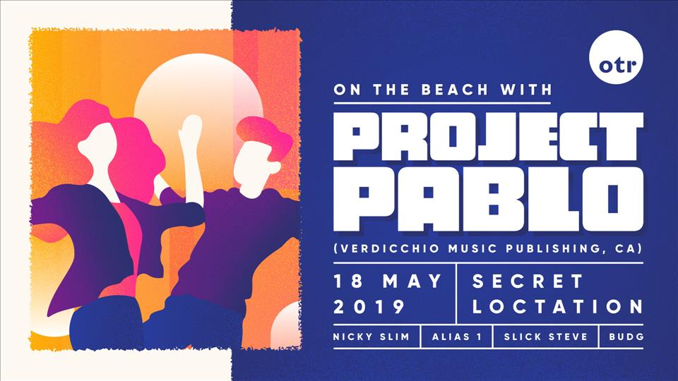OTR presents Project Pablo flyer