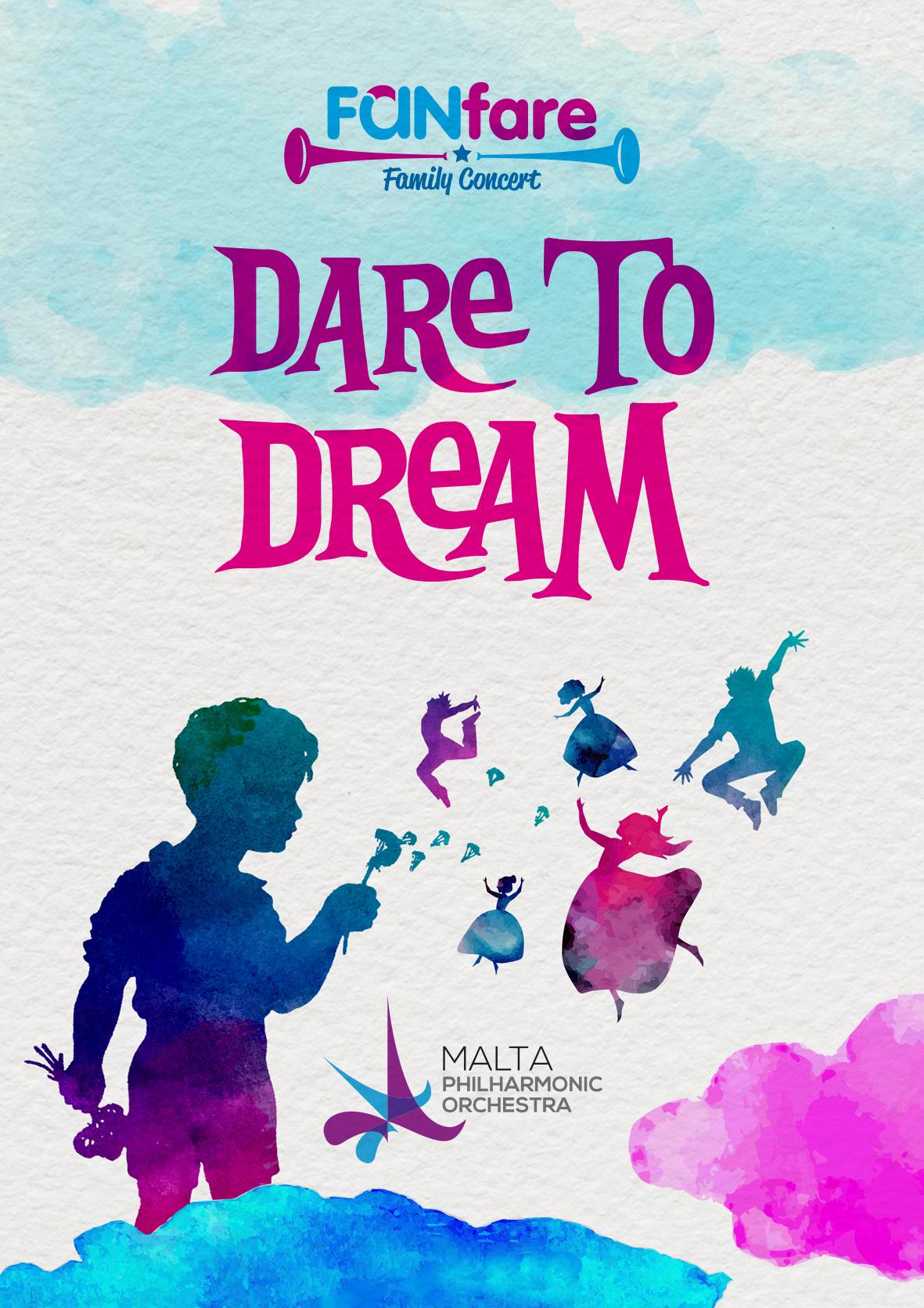 Dare to Dream - MPO Family Fanfare concert flyer