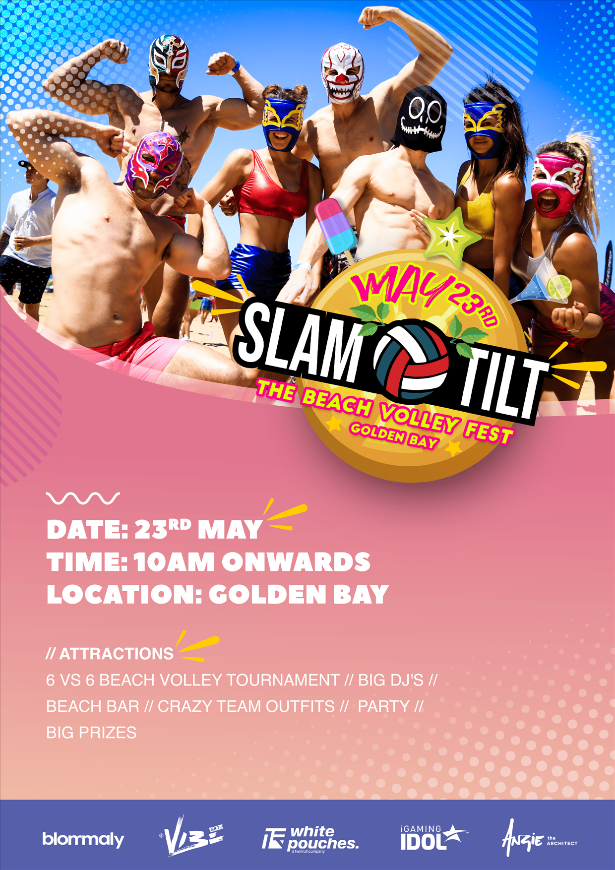 Slam tilt - The Beach Volley Fest