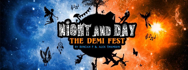 Night and Day - The Demi Fest flyer
