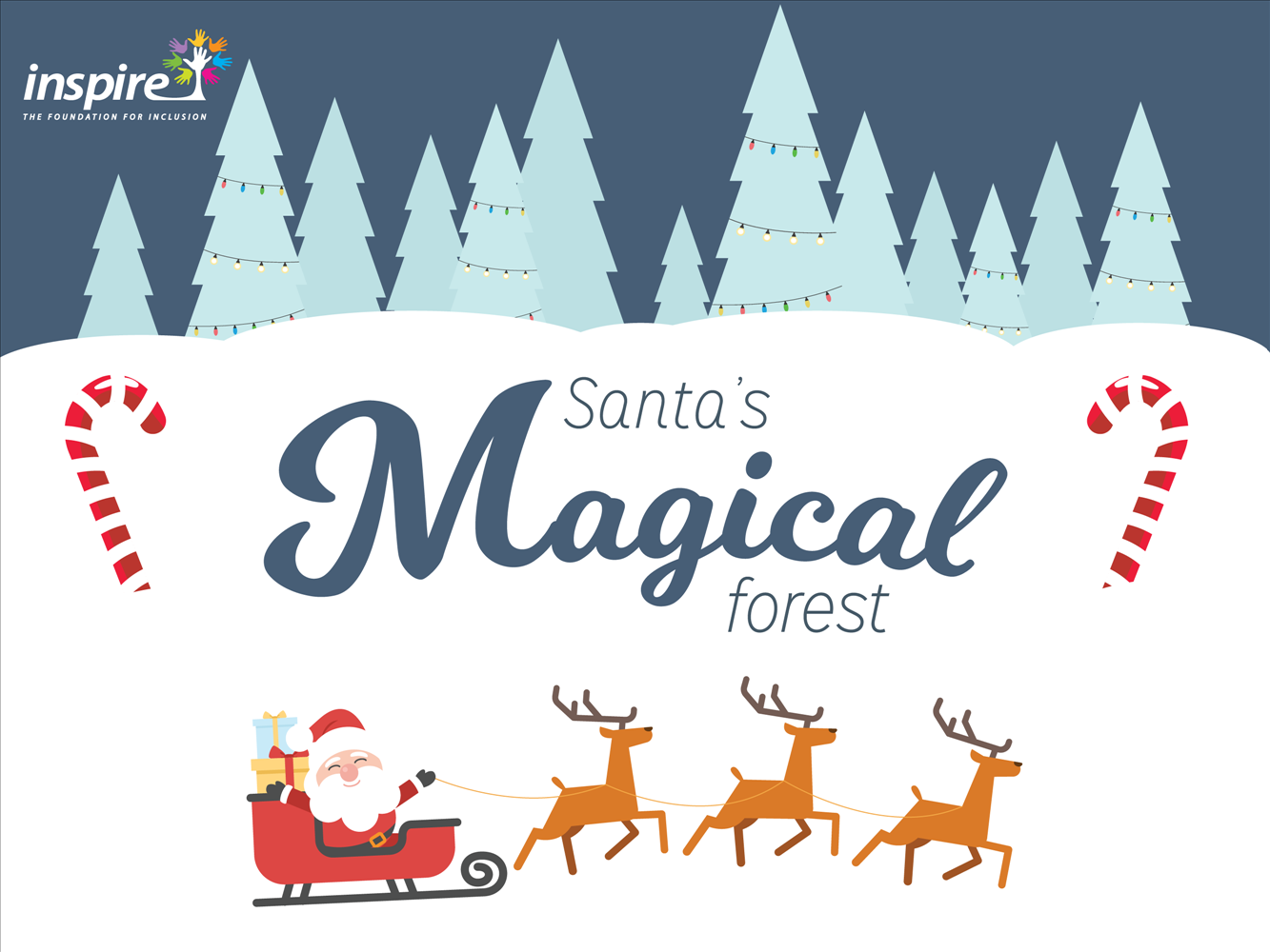 Santa's Magical Forest flyer