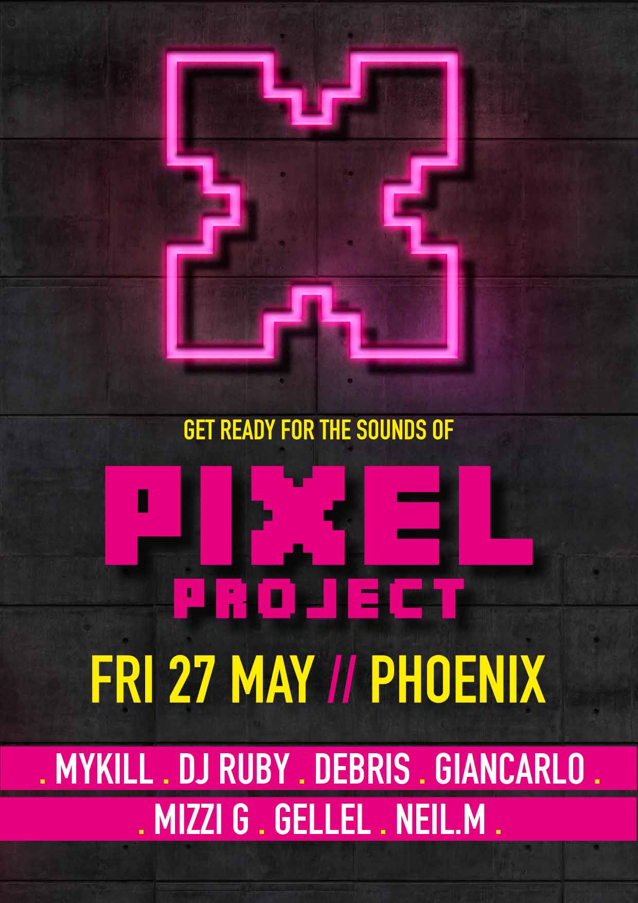 PIXEL Project flyer