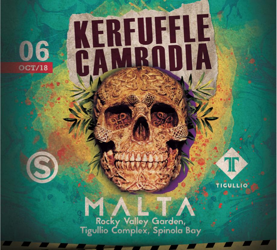 Kerfuffle Cambodia Comes To Malta flyer