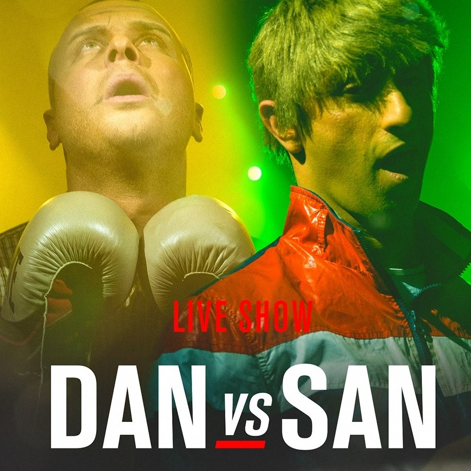 Dan vs San flyer