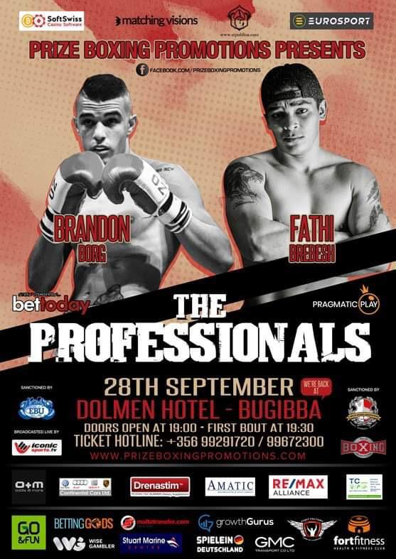 The Professionals flyer