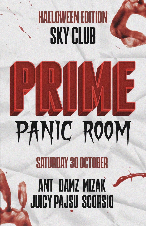 PRIME   Panic Room! [Halloween Edition] poster