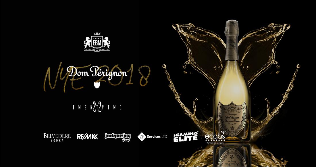 EBM - Dom Pérignon New Year's Eve Party at TwentyTwo flyer