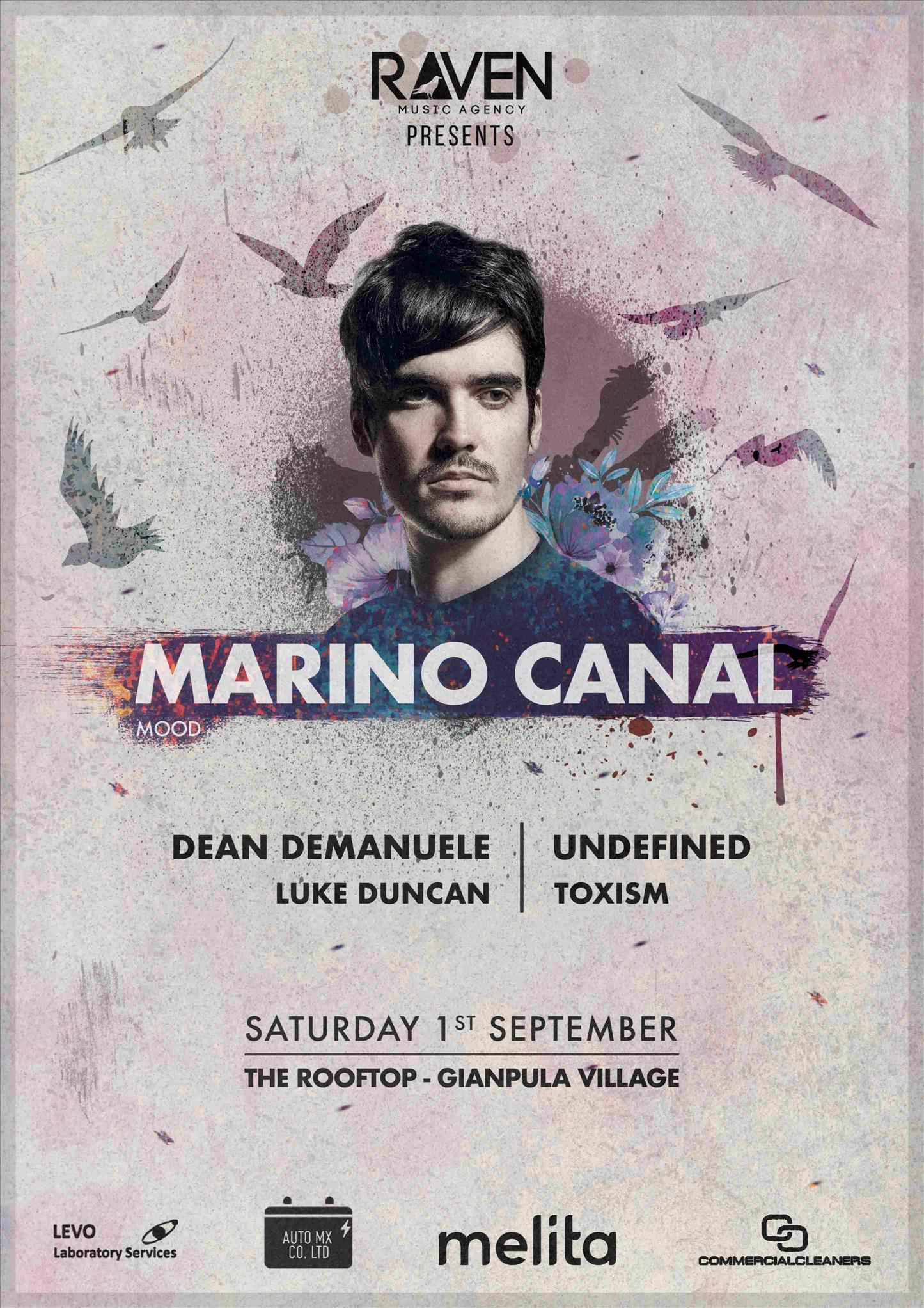 End of Summer Party! Marino Canal at The Rooftop, Gianpula flyer