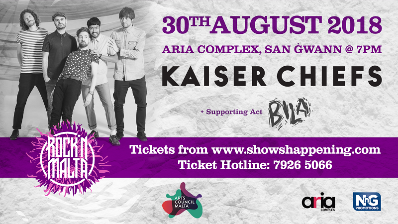 Kaiser Chiefs flyer