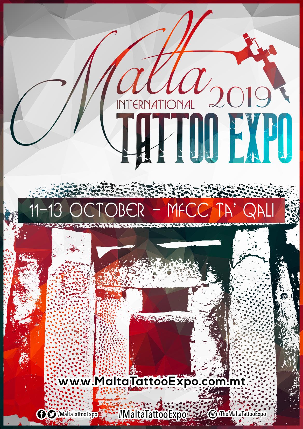 Malta Tattoo Expo 2019 flyer