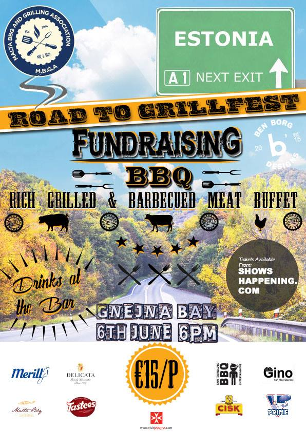 Road to Grillfest flyer