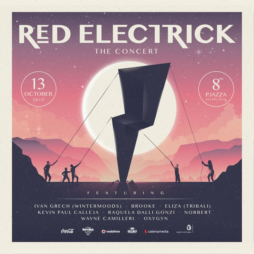 RED ELECTRICK - THE CONCERT 2018 flyer