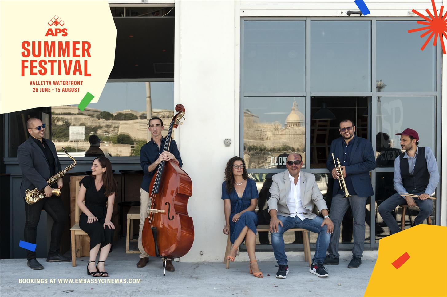 Ellington Night - APS Summer Festival flyer
