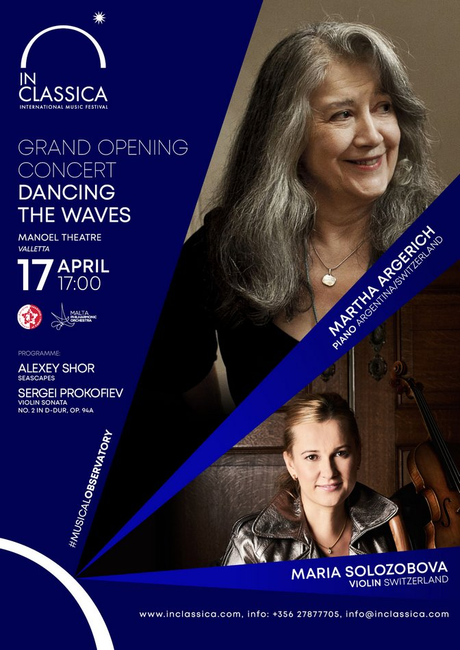 INCLASSICA: GRAND OPENING, DANCING THE WAVES poster