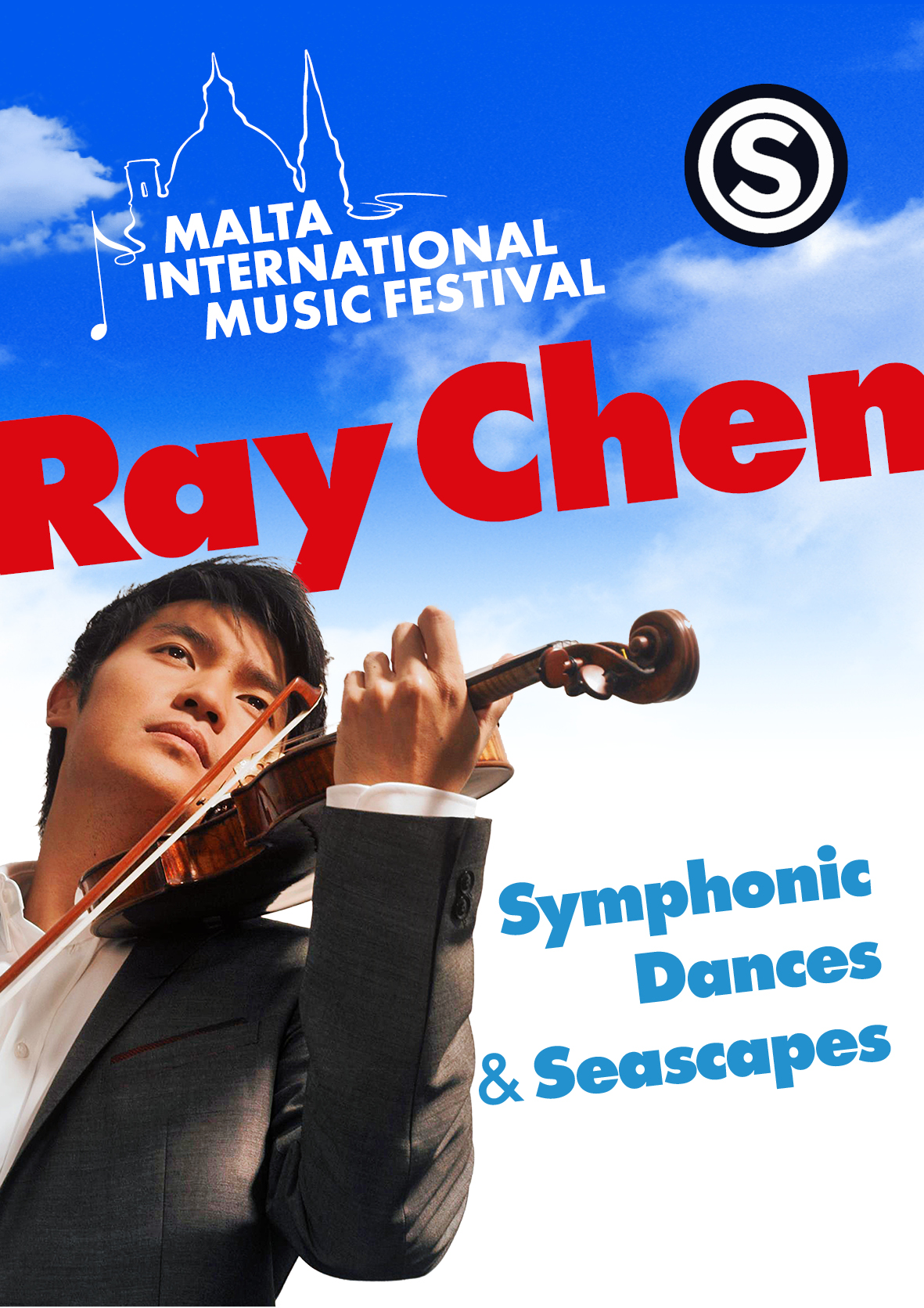 SYMPHONIC DANCES AND SEASCAPES- Ray Chen flyer