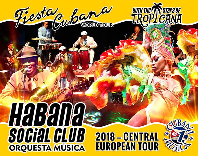 Fiesta Cubana - Habana Social Club European Tour flyer