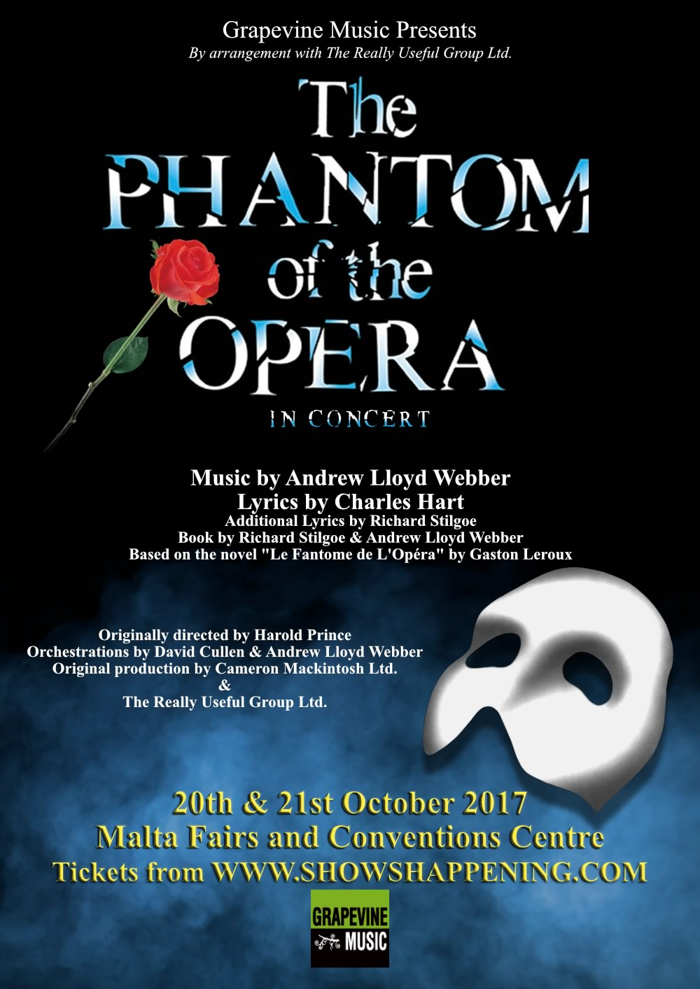 The Phantom Of the Opera flyer