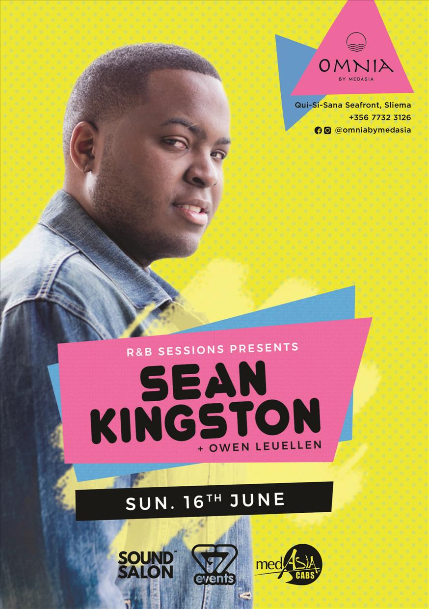 Sean Kingston Live - R&B Sessions Opening flyer
