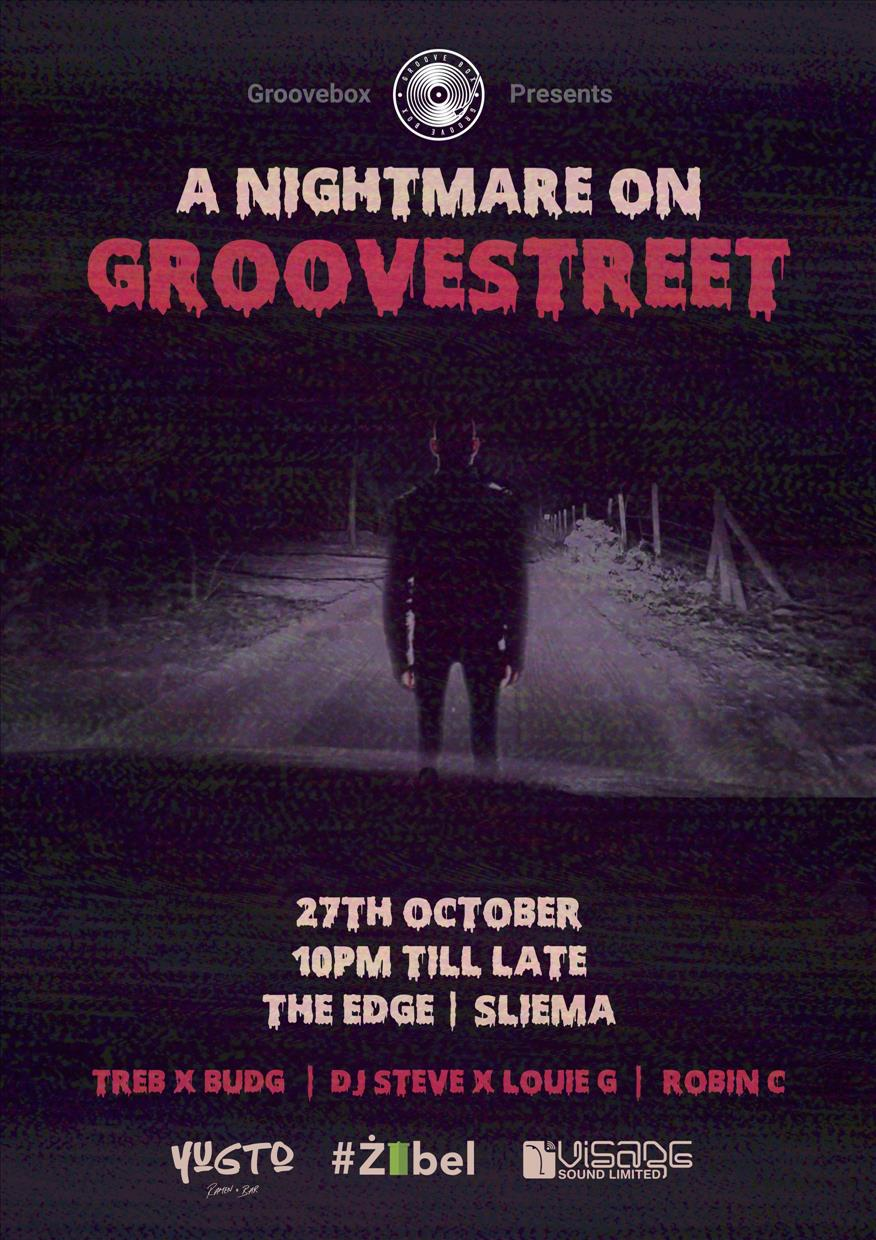 A NightMare On Groove Street flyer