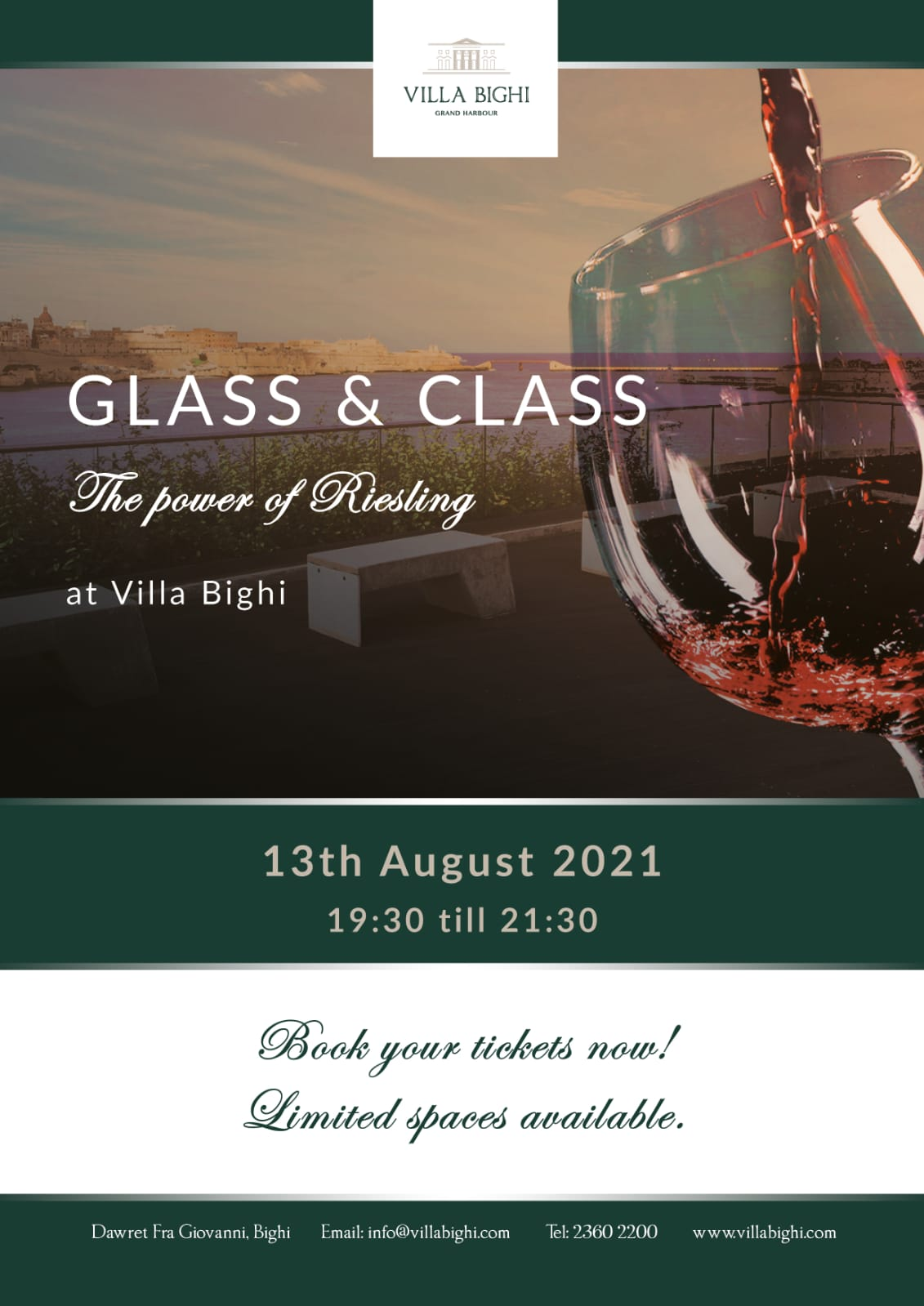 Glass & Class: The Power of Riesling poster