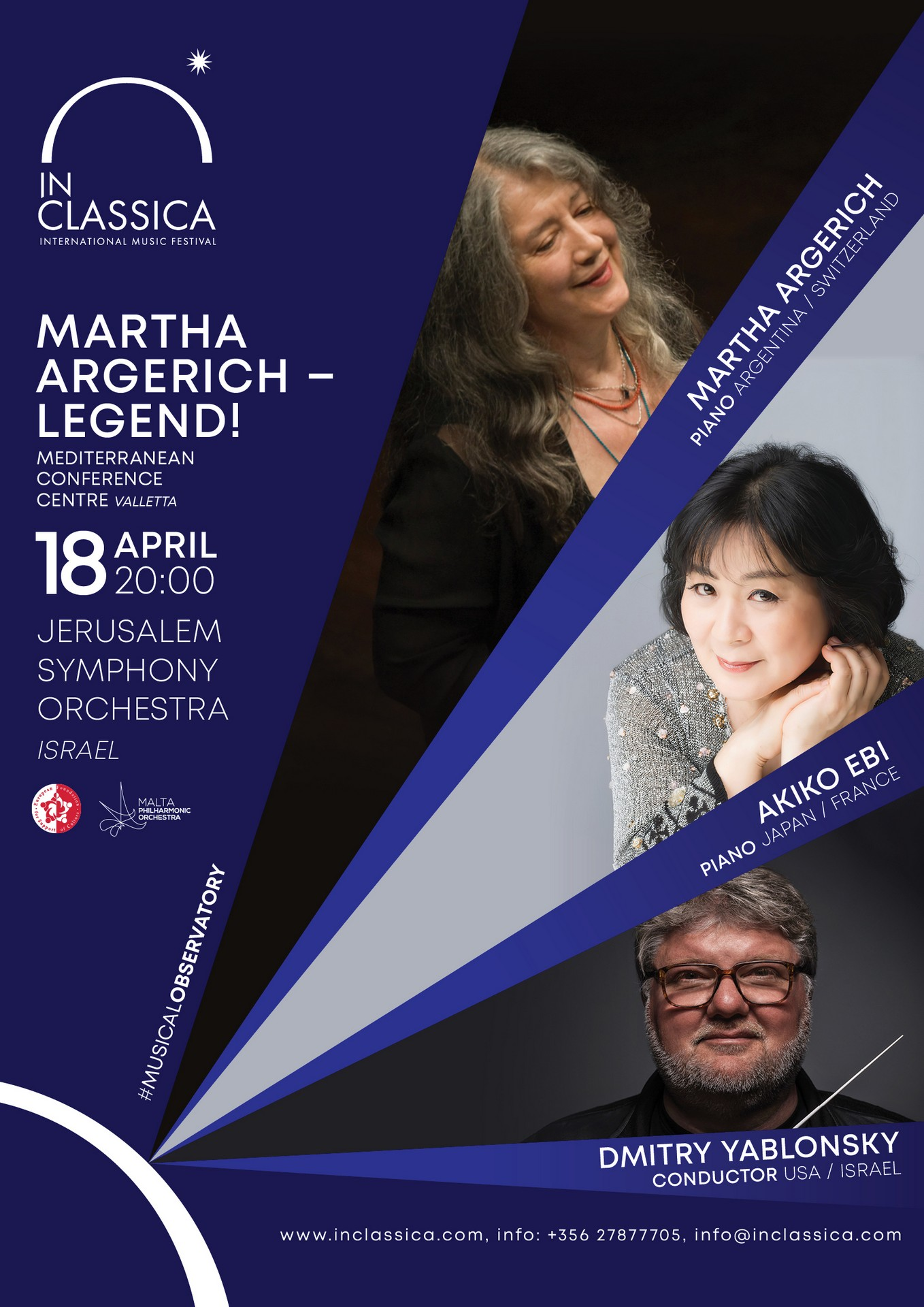 Martha Argerich - Legend! flyer