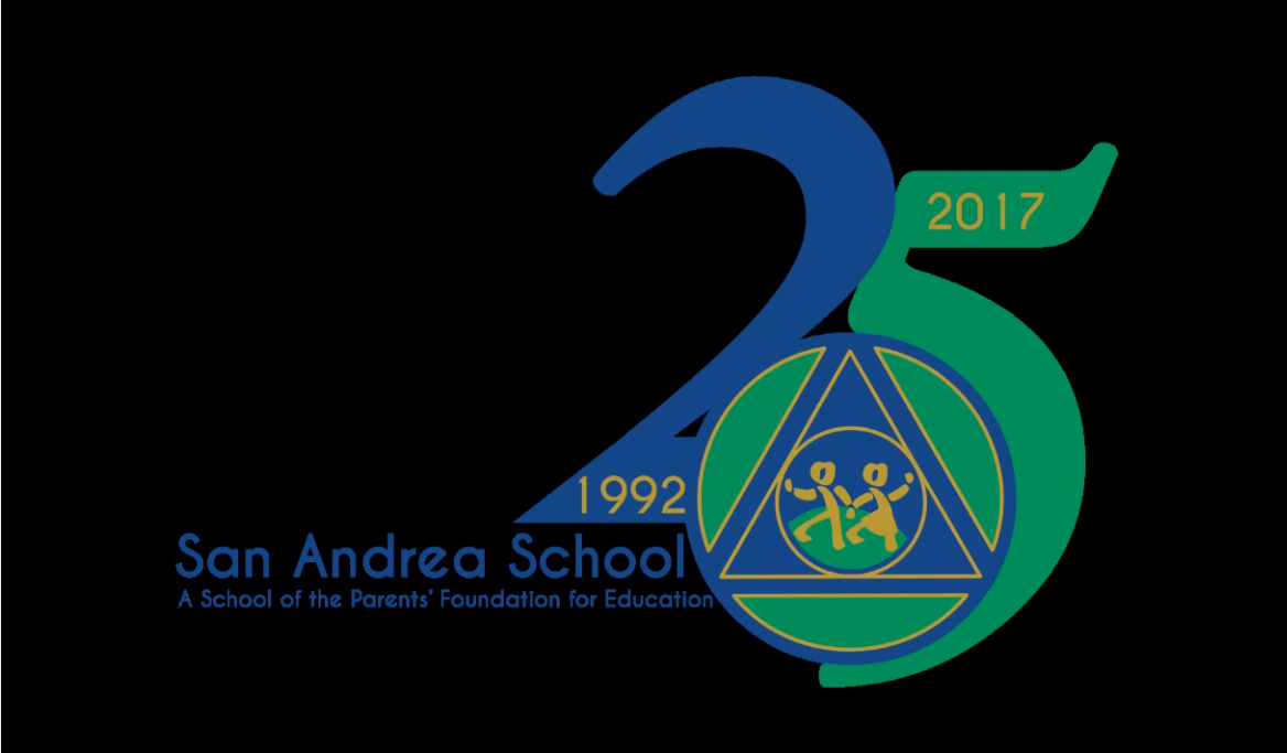 San Andrea 25th Anniversary - Reunion flyer