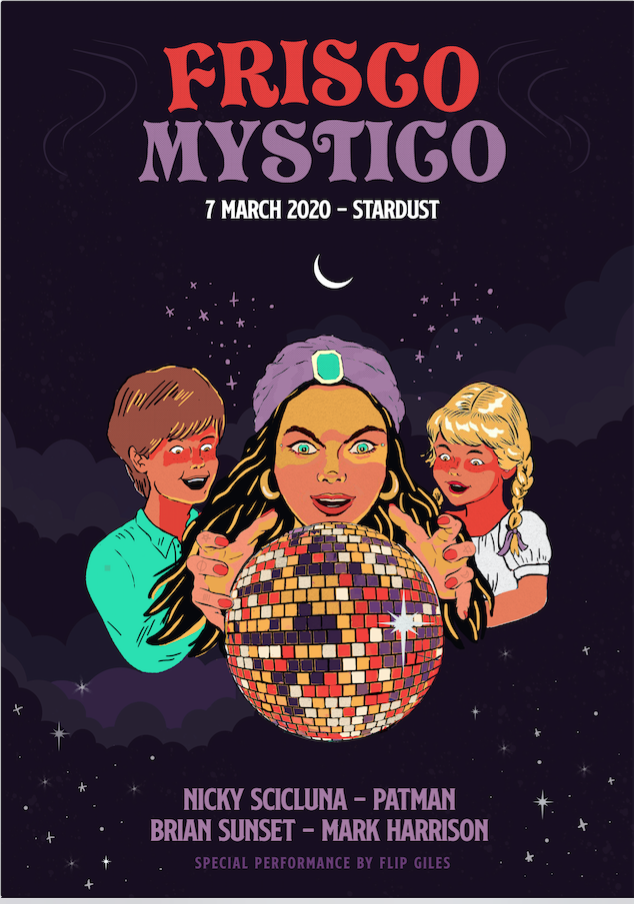 FRISCO MYSTICO flyer