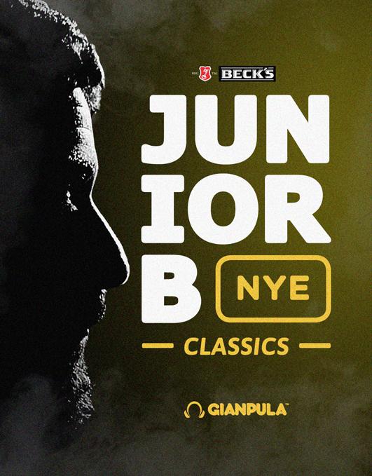 Junior B Classics / New Year's Eve flyer