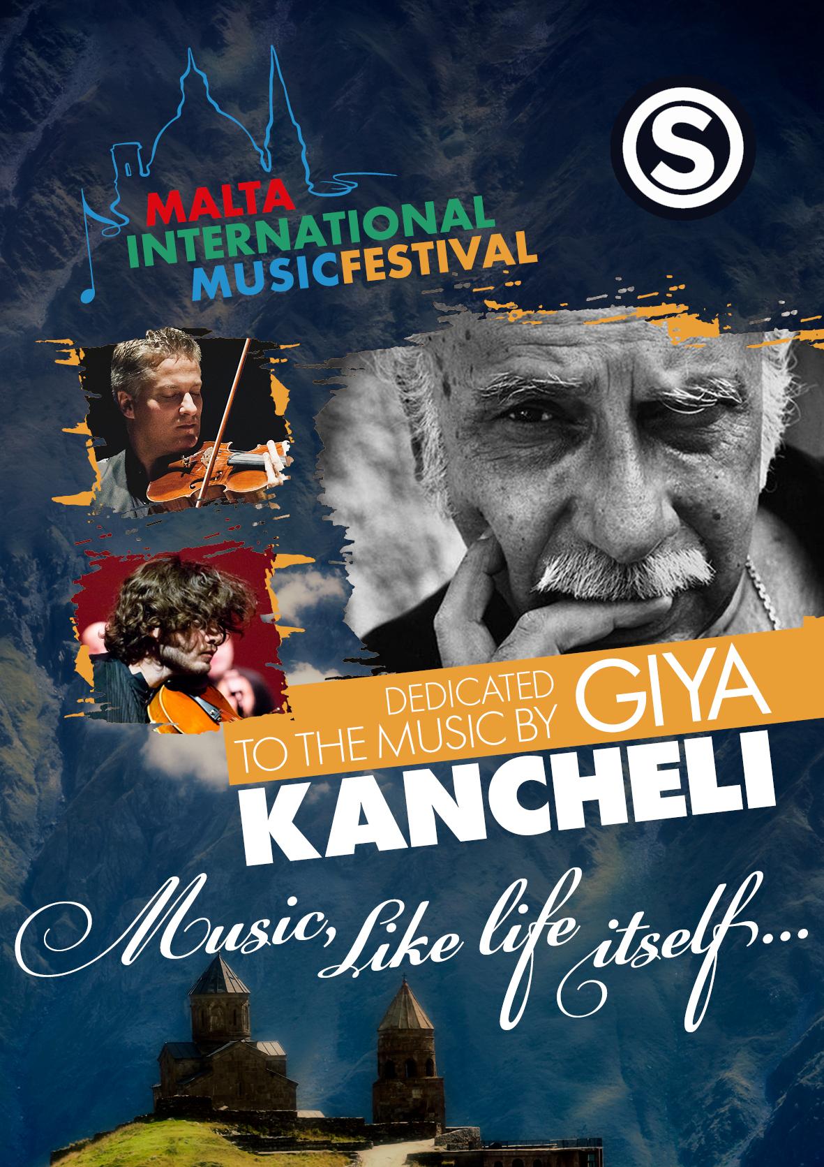 The Music of Giya Kancheli flyer