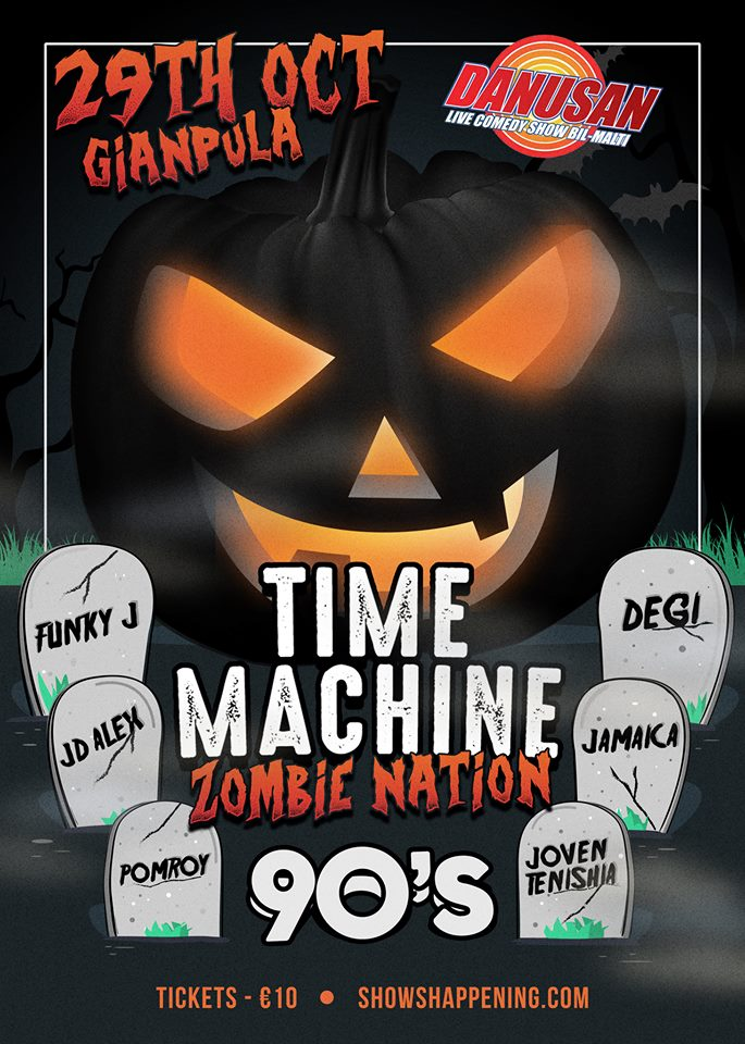 TIME MACHINE - ZOMBIENATION flyer