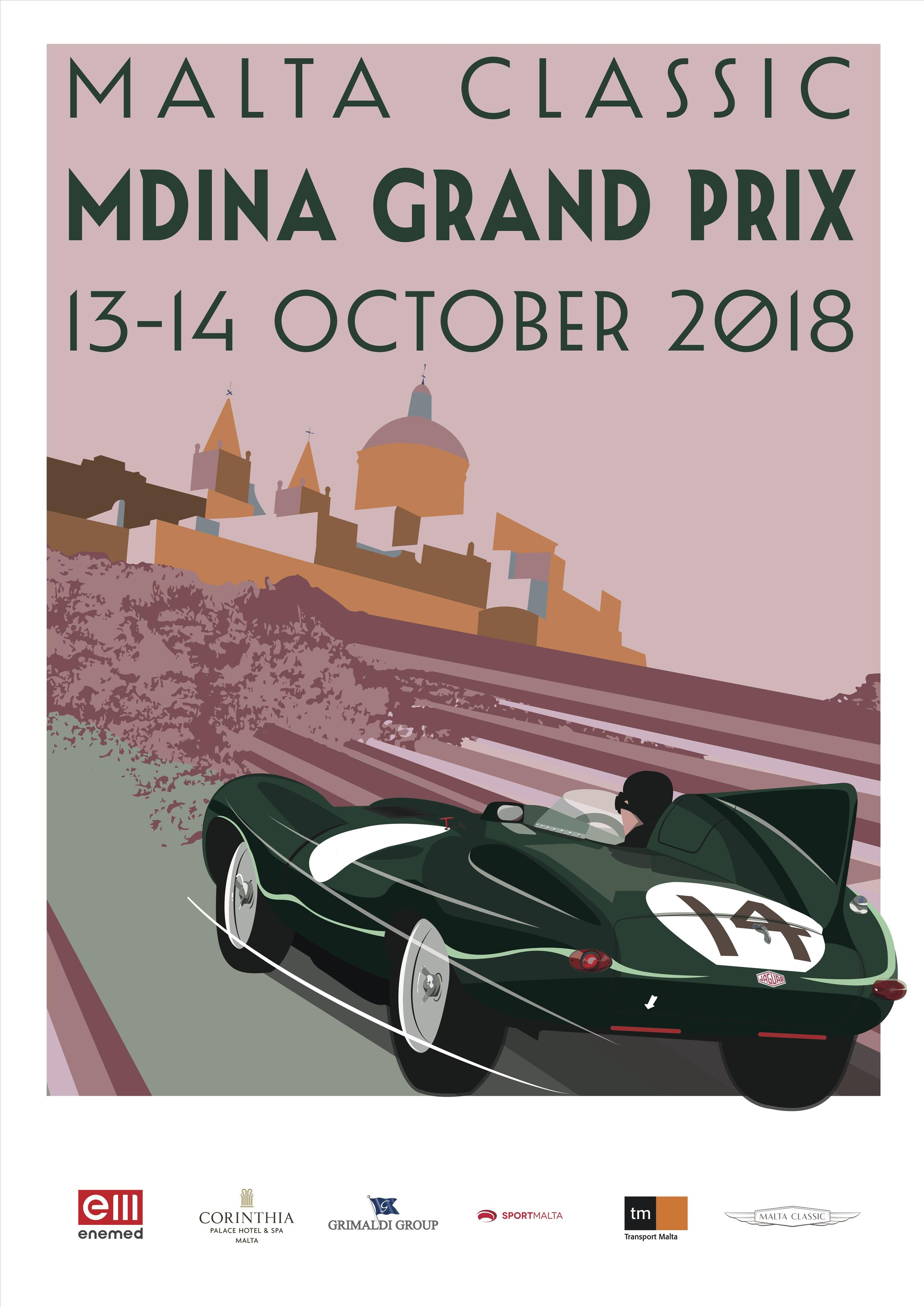 Malta Classic 2018 flyer