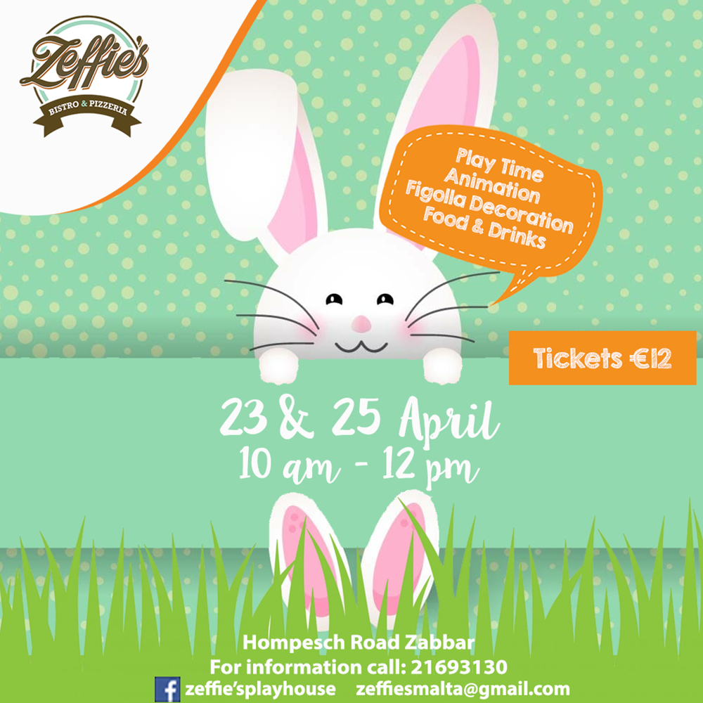 Easter Kids Party & Figolla Decoration flyer