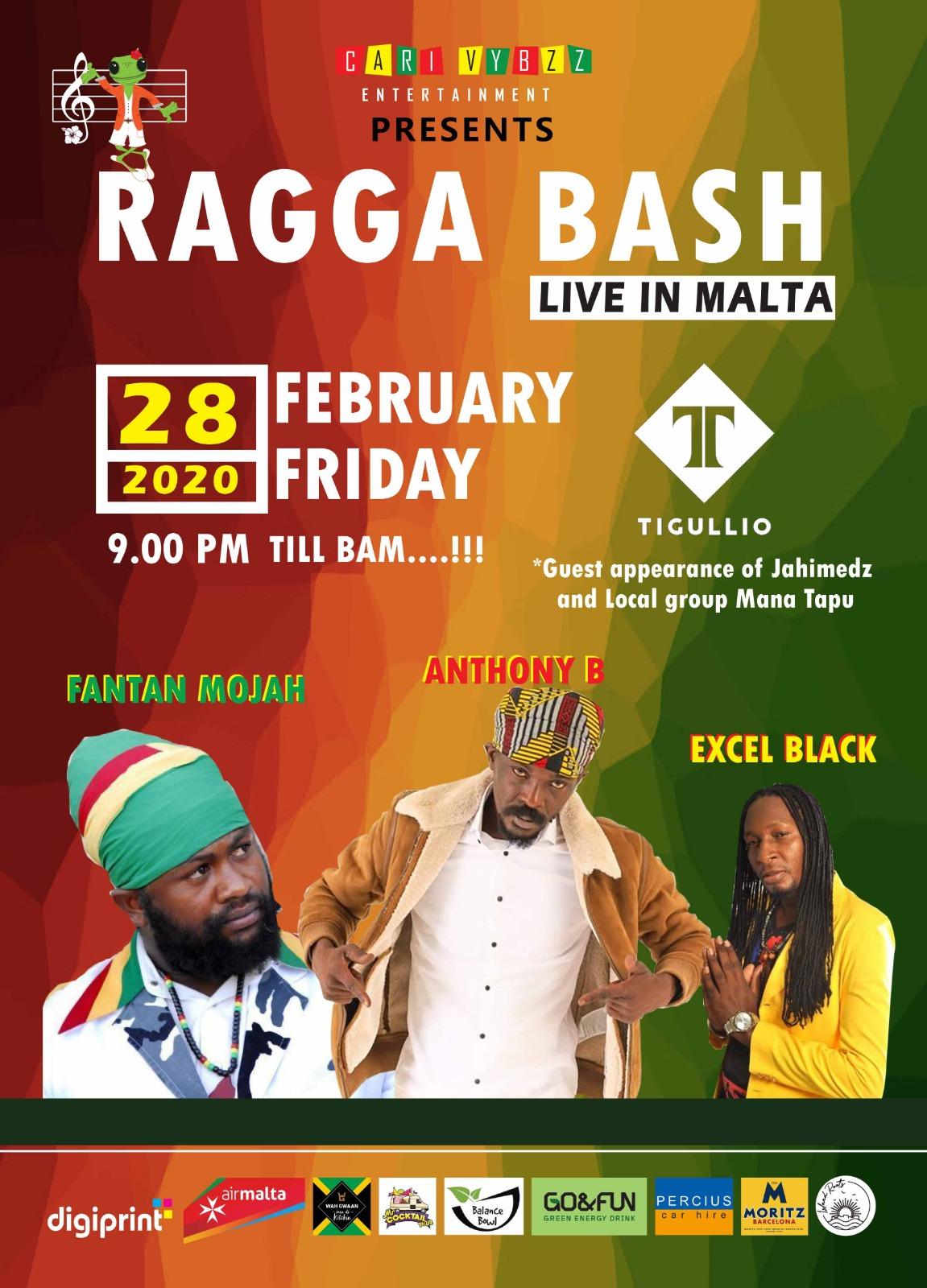 Ragga Bash flyer