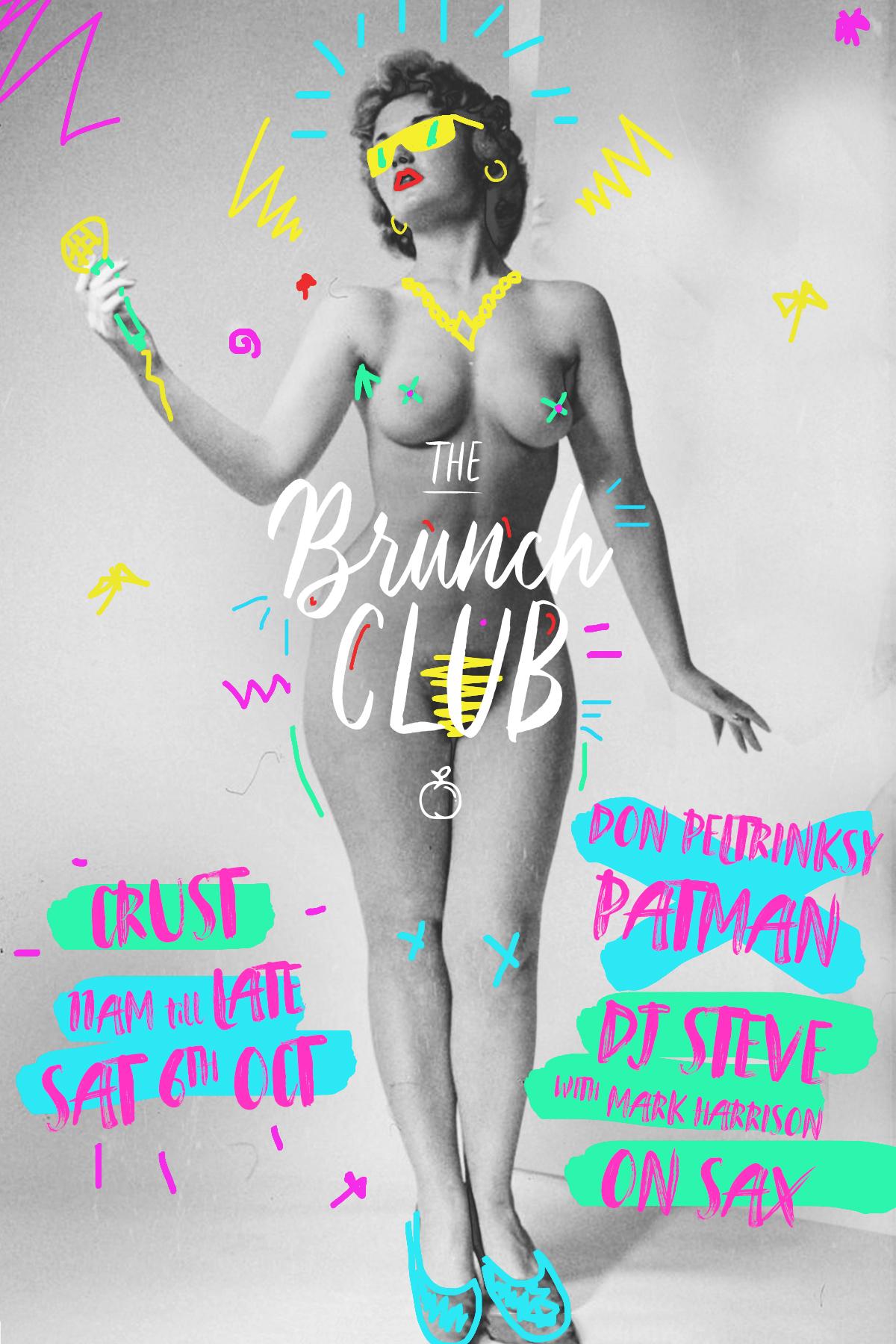 The Brunch Club - Post Brunch flyer