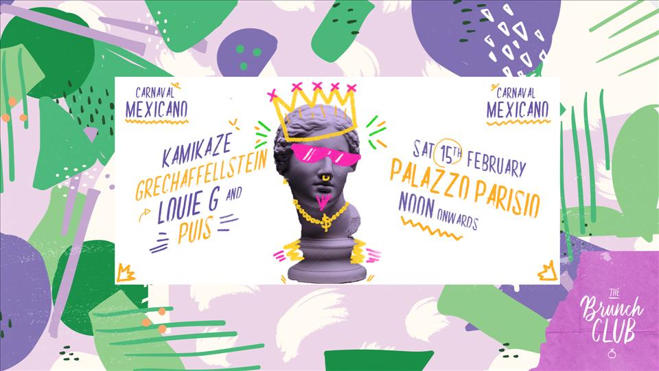 The Brunch Club - Carnaval Mexicano flyer