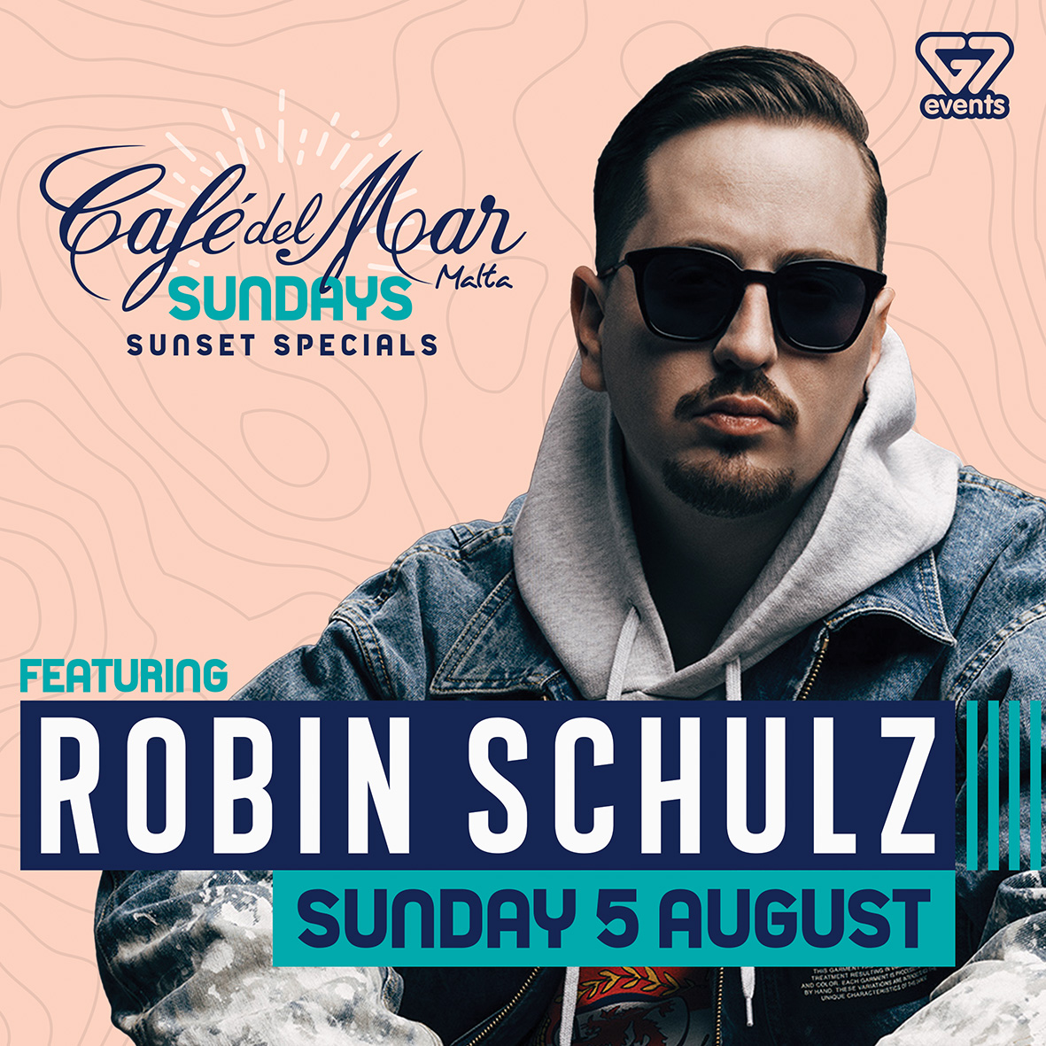 Robin Schulz at Café Del Mar flyer