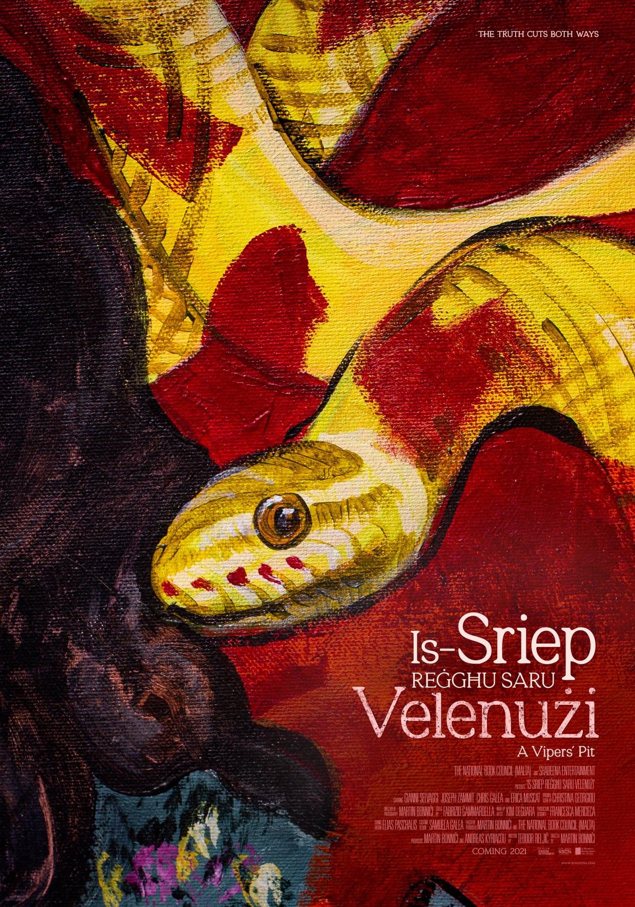 The Malta Book Festival 2021: Film Screening of  'Is-Sriep Reġgħu Saru Velenużi' poster