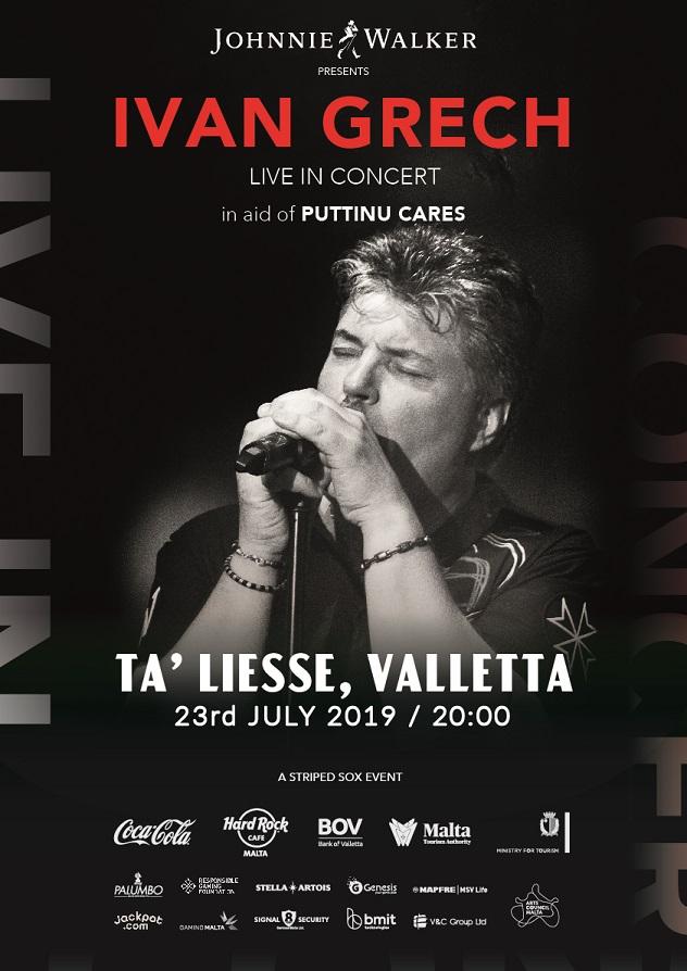 Ivan Grech Live in Concert 2019 flyer