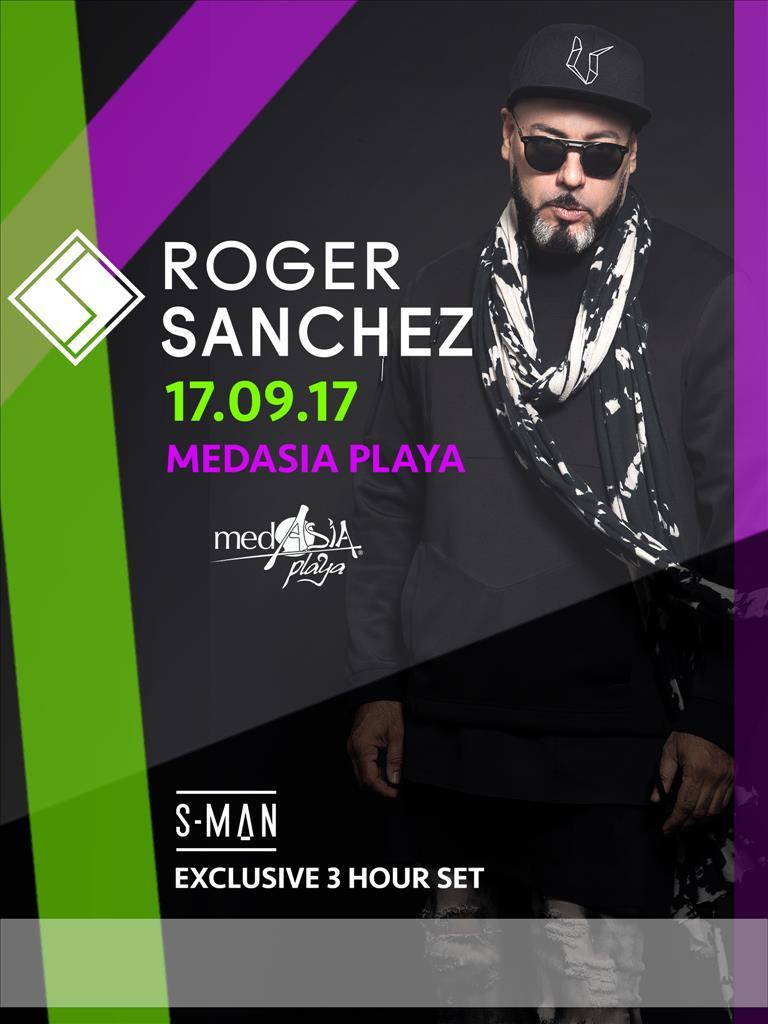 MedAsia Playa Official Closing -Day 2- Roger Sanchez flyer